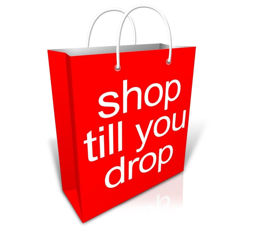 """""""shop till you drop."""" Sustainable production and consumption"""