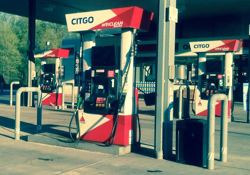 Gas station. how to use less gas