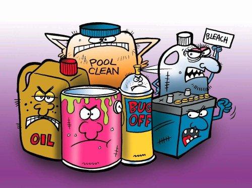 hazardous household wastes