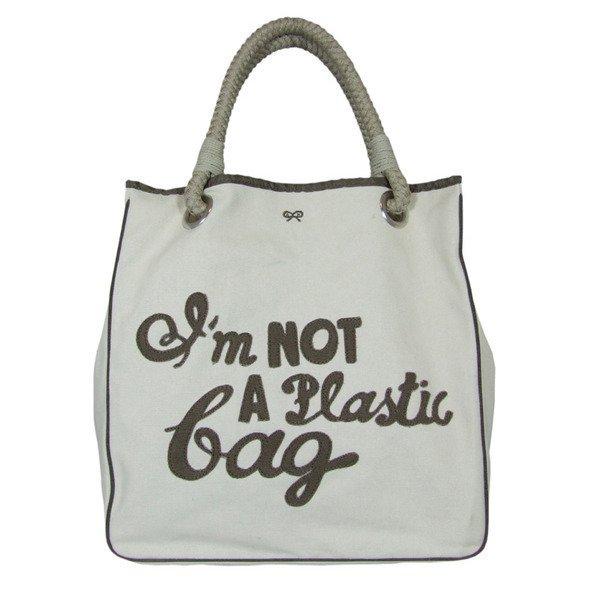 not a plastic bag. benefits of green living