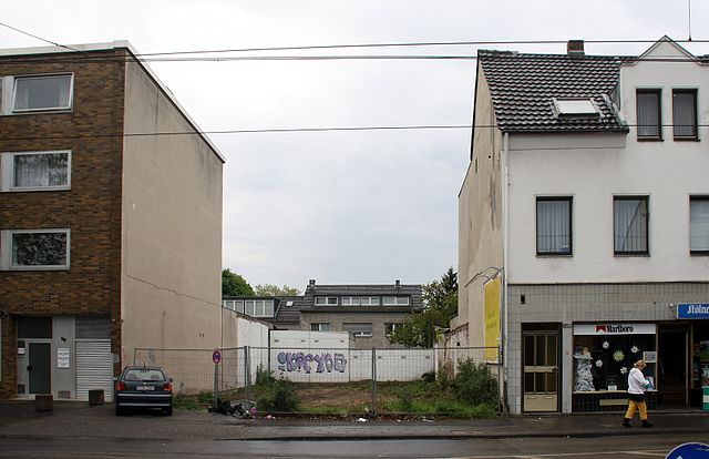 Urban infill site, sustainable home location