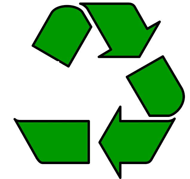 Broken recycling loop. Buy recycled products
