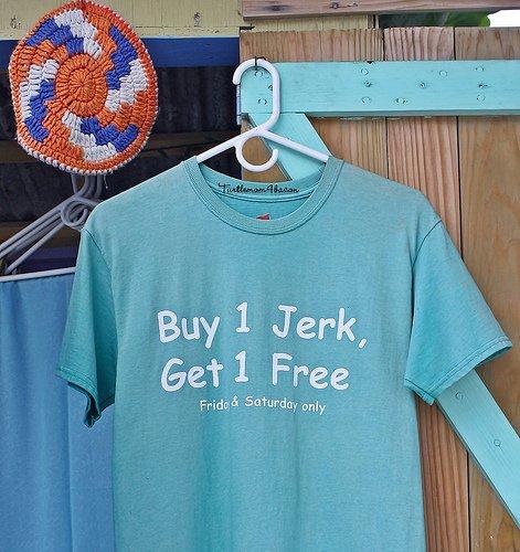 tee shirt -- hidden costs of not going green