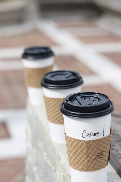 disposable coffee cups, what can't be recycled