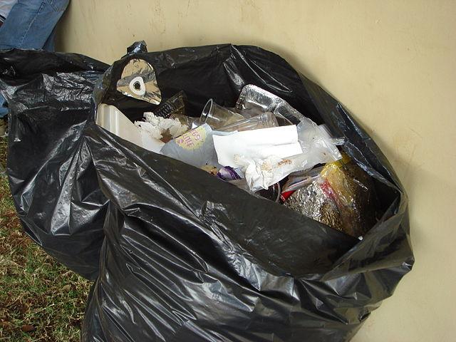 garbage bag