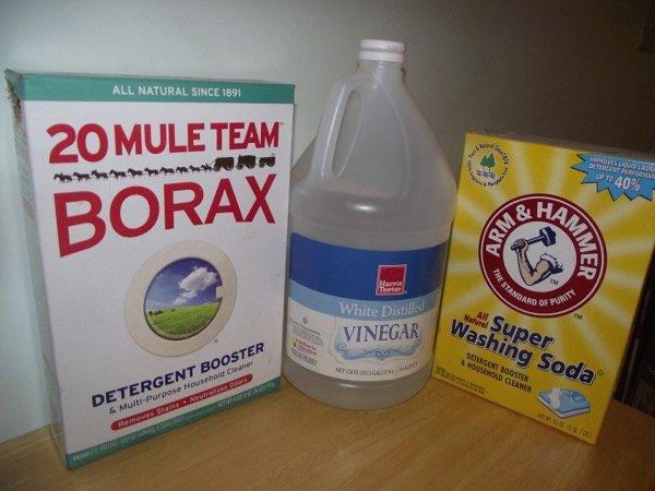 Homemade cleaner ingredients