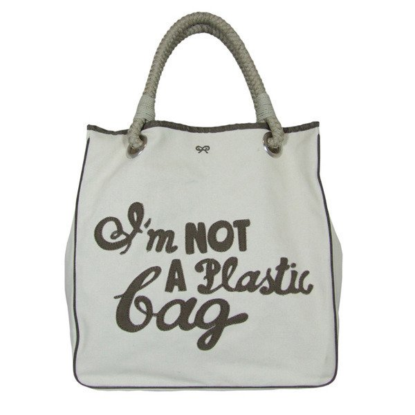 not a plastic bag. benefits of green living