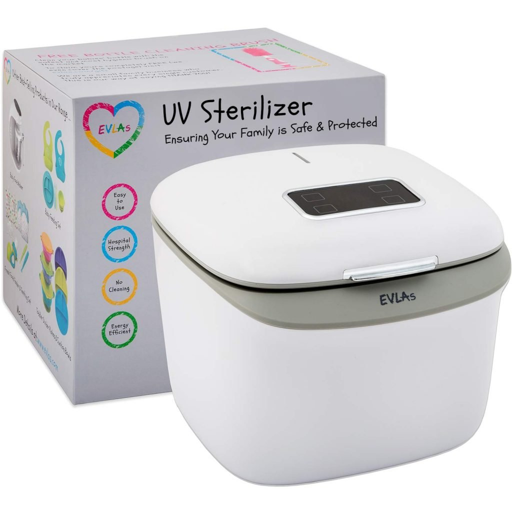 EVLA's UV light sterilizer box