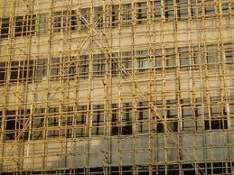 bamboo scaffolding. bamboo sustainability
