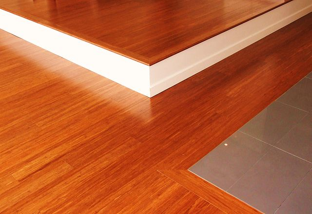 Bamboo products: bamboo flooring