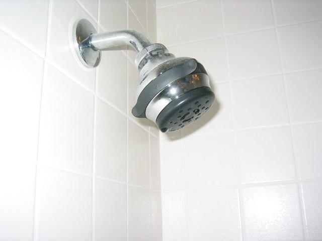 low-flow shower head