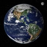 earth from space. help the environment