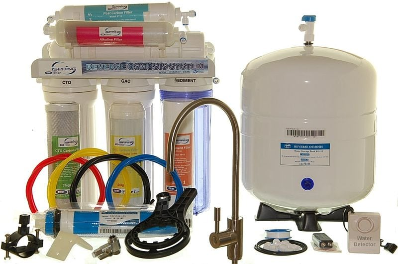 reverse osmosis home drinking water filter system