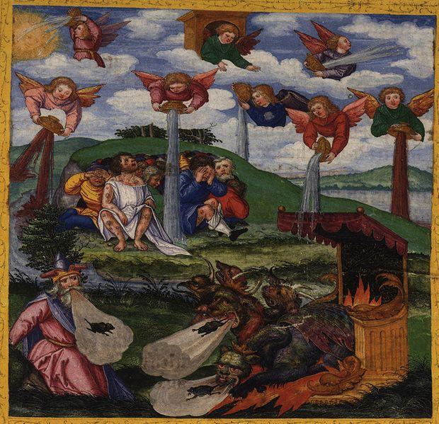 The seven bowl plagues of Revelation