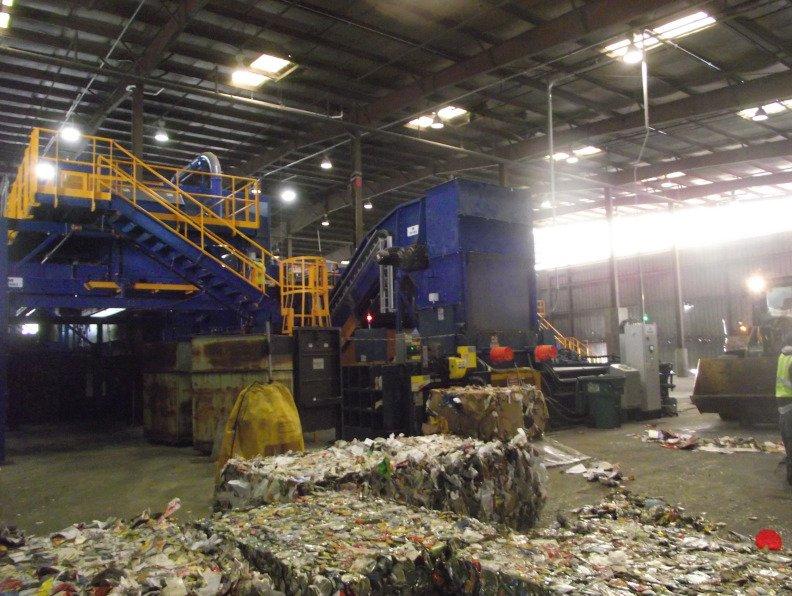 materials recovery facility, High Point, North Carolina